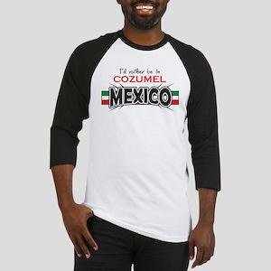 Cozumel Mexico Baseball Jersey
