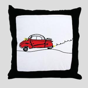 Messerschmitt KR200 Throw Pillow