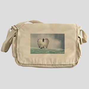 Angel walk Messenger Bag