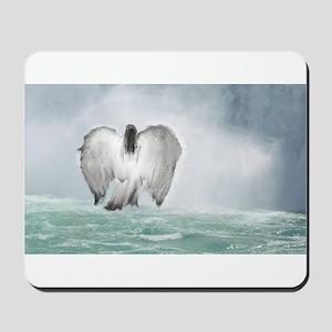 Angel walk Mousepad