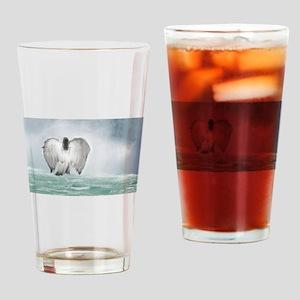 Angel walk Drinking Glass