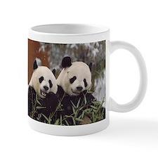 Pandas Eating Mug