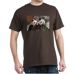 Pandas Eating T-Shirt