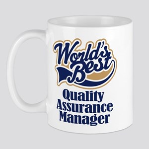 Quality Assurance Manager (Worlds Best) Mug
