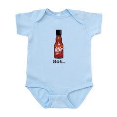 Hot. Infant Bodysuit