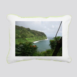 Hana Highway Rectangular Canvas Pillow