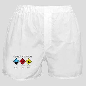 Triathlete Boxer Shorts