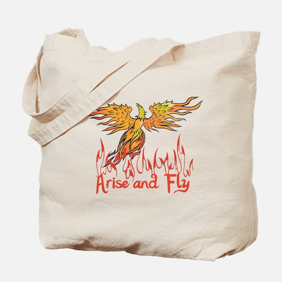 Arise and Fly Tote Bag