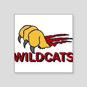 "Wildcats Square Sticker 3"" x 3"""