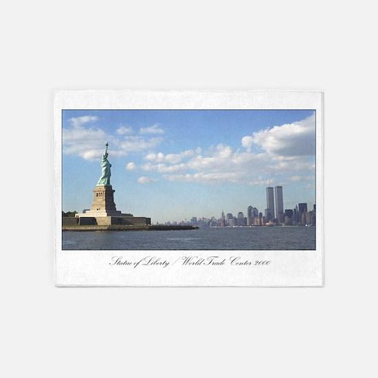 New York, Twin Towers Area Rug