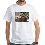 Lion in Snow White T-Shirt