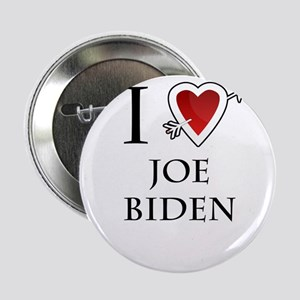"i love Joe Biden heart 2.25"" Button"