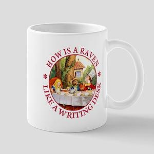 How Is A Raven Like A Writing Desk Mug
