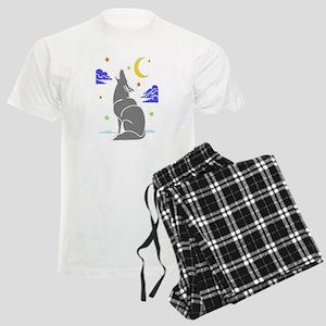 Grey Wolf Men's Light Pajamas