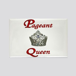 Pageant Queen Rectangle Magnet
