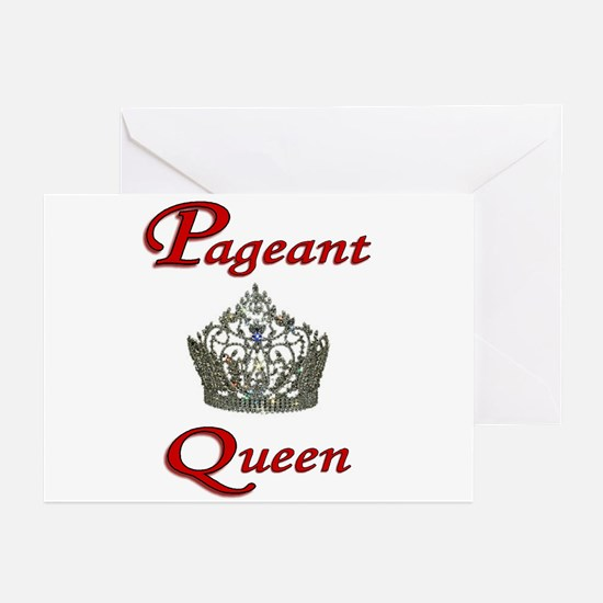 Pageant Queen Greeting Cards (Pk of 10)