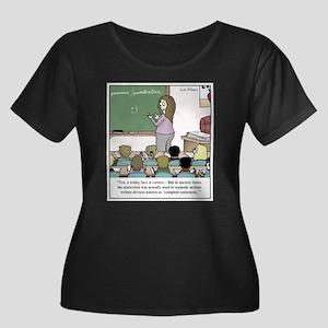 Using the Semicolon Plus Size T-Shirt