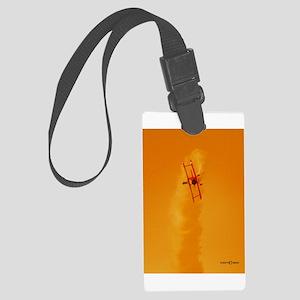 Wingwalker 1 orange(signed) Large Luggage Tag