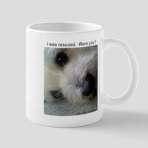 Rescue equals love Mug