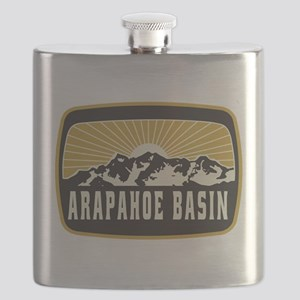 Arapahoe Basin Sunshine Patch Flask