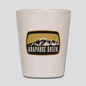 Arapahoe Basin Sunshine Patch Shot Glass