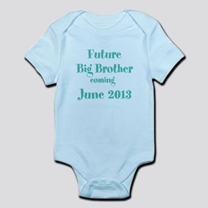 Personalized Future Big Brother Infant Bodysuit