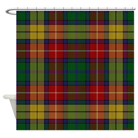 Buchanan Tartan Celtic Shower Curtain