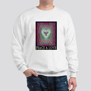PEACE LOVE MANDALA Sweatshirt
