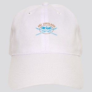 Loveland Crossed-Skis Badge Cap