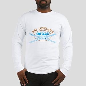 Loveland Crossed-Skis Badge Long Sleeve T-Shirt