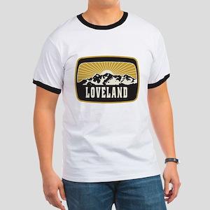 Loveland Sunshine Patch Ringer T