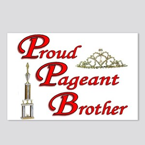 Pageant Brother Postcards (Package of 8)