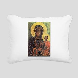 Our Lady of Czestochowa Rectangular Canvas Pillow