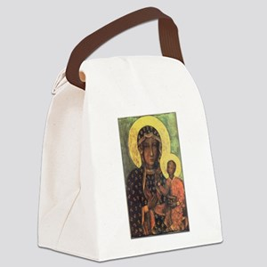Our Lady of Czestochowa Canvas Lunch Bag