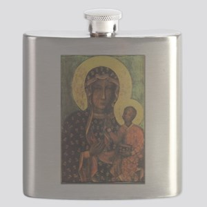Our Lady of Czestochowa Flask