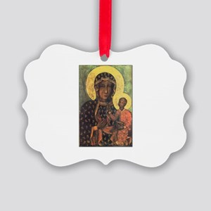 Our Lady of Czestochowa Picture Ornament