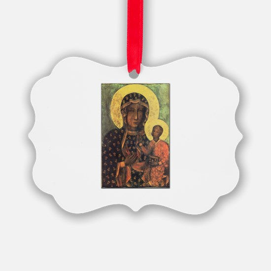 Our Lady of Czestochowa Ornament