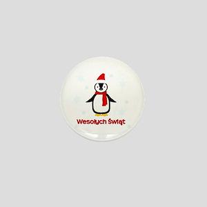 Penguin - Mini Button