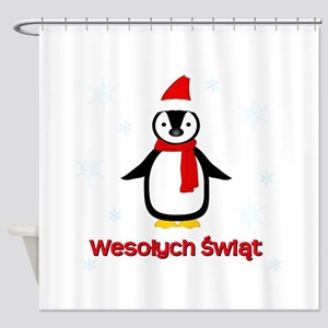 Penguin - Shower Curtain