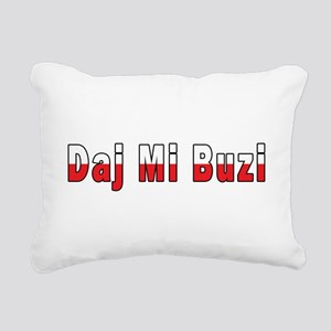 Daj Mi Buzi - Give me a Kiss Rectangular Canvas Pi