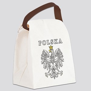 Polska Black Eagle Canvas Lunch Bag