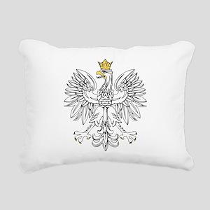 Polish Eagle With Gold Crown Rectangular Canvas Pi
