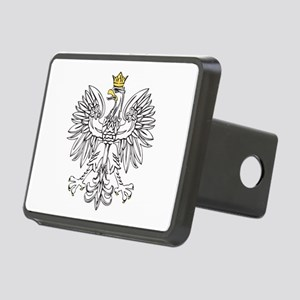 Polish Eagle With Gold Crown Rectangular Hitch Cov
