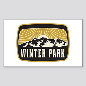 Winter Park Sunshine Patch Sticker (Rectangle)