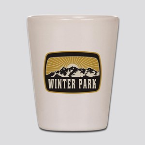Winter Park Sunshine Patch Shot Glass