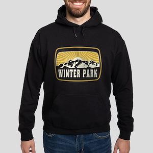 Winter Park Sunshine Patch Hoodie (dark)