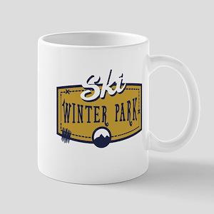 Ski Winter Park Patch Mug