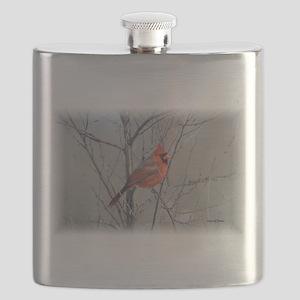 Cardinal 2 (signed)09 Flask