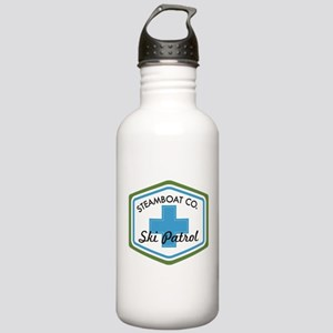 Steamboat Ski Patrol Patch Stainless Water Bottle