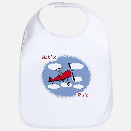 Babies Rule Bib